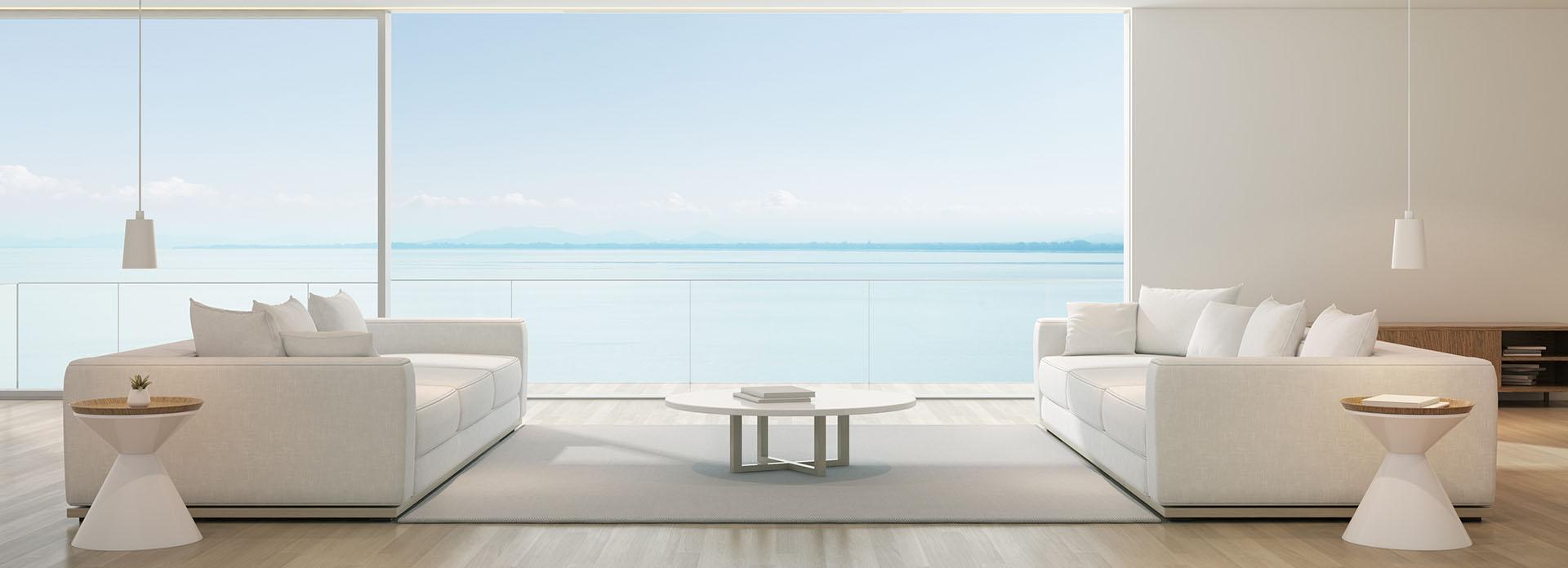 modern luxus nappali